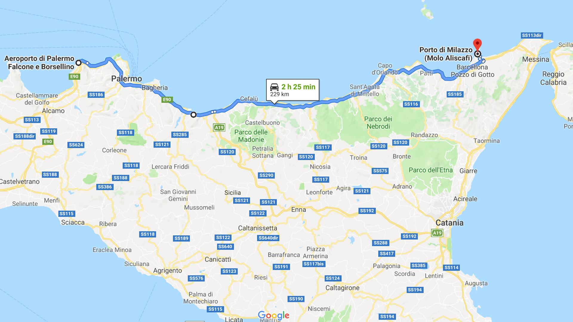 Palermo - Milazzo